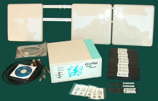 Rfid radar kit with Patch antennas